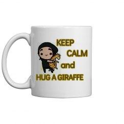 Hug A Giraffe