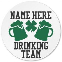St Pattys Drinking Team