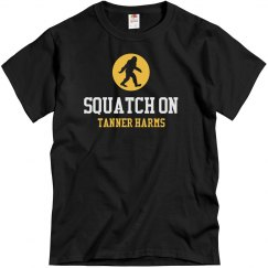 squatch on tanner harms