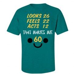 60th Birthday Tshirt
