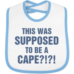 Little Superhero Cape Confusion