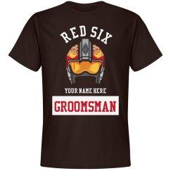 Groomsman Red Six