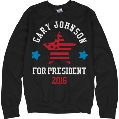 Gary Johnson Sweatshirt