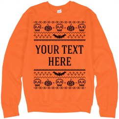 Spooky Halloween Sweater