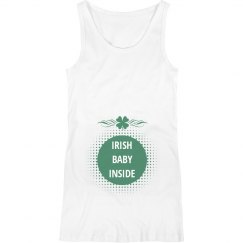 Irish Baby Inside Maternity Top
