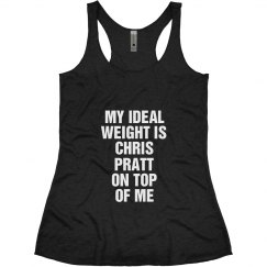 Ideal Weight Chris Pratt