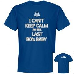 Blue '80's Baby - 1989