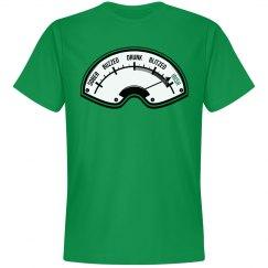 St. Patrick's Irish Drunk Meter