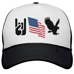 Rock Flag and Eagle