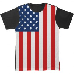 American Flag All Over Print