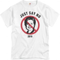 Just Say No To Hillary