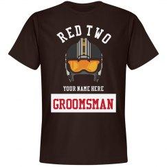 Groomsman Red Two