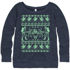 Ghost Christmas Sweater