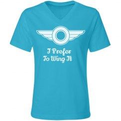 Wing It - Lady's Tee