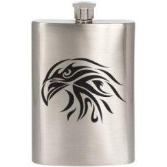 Tribal Bald Eagle Flask