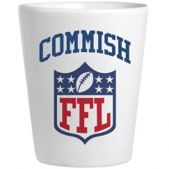 Unofficial Fantasy Football League Commissioner Shot