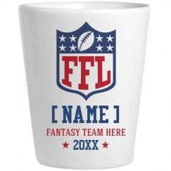 Custom Team/Member Name Fantasy Football