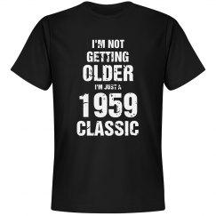 1959 classic birthday shirt