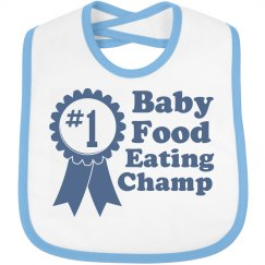 Baby Food Champ Bib