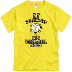 Drinking/Volleyball Prob.