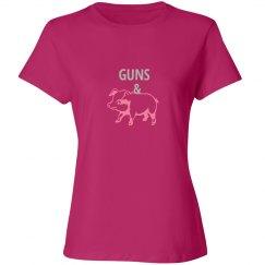 GUNS & HAM (Misses relax pink/silverpink)
