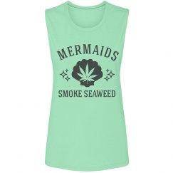 Cute 420 Mermaids Smoke Seaweed