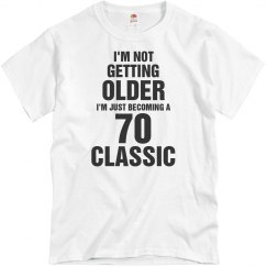 70 Classic birthday shirt
