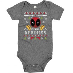 Deadpool Ugly Sweater Onesie
