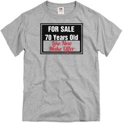 70 year old for sale
