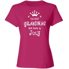 The best grandmas are born in July