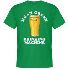 Green Irish Drinking Machine