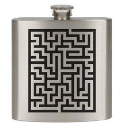 A Maze On A Flask