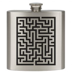 A Maze On A Flask
