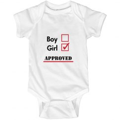 Girl: Approved