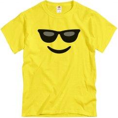 Funny Sunglasses Emoji Costume
