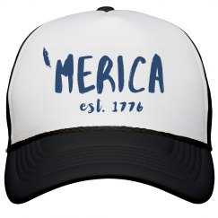 'Merica 1776 July 4th Snap Back
