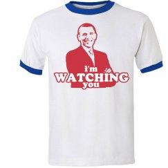 Obama I'm Watching You