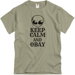 Obay the Gray T-shirt