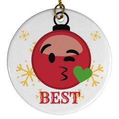 Emoji Ornament Best Friends 1