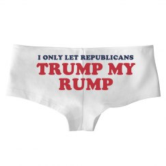 Trump My Rump Republican Underwear
