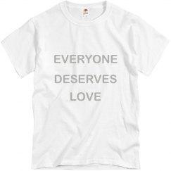 Everyone Deserves Love Silver