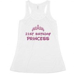 21st Birthday Princess
