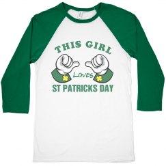 This Girl Loves St. Patricks Day