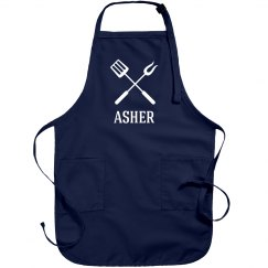 Asher Personalized apron
