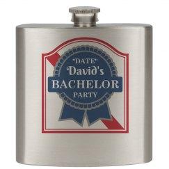 Fancy Bachelors Flask