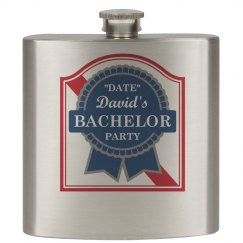 Fancy Bachelors Flask