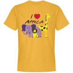 I Love Africa T-Shirt