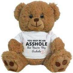 Funny Teddy Bear Couple Gift
