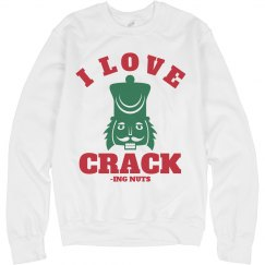 I Love Christmas Crack
