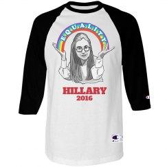 Hillary's Equal Rainbow